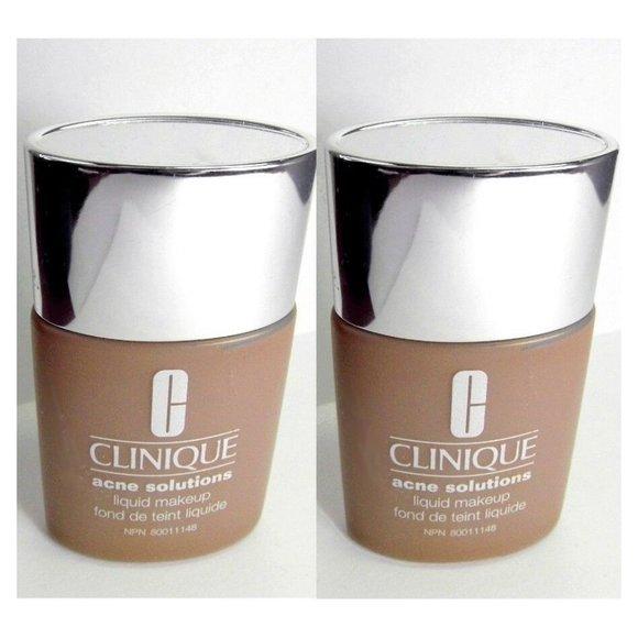 2pc LOT CLINIQUE 07 Fresh Golden Acne Solutions